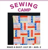Cath Hall ONLY 1 SPOT LEFT Kids Sewing Camp: Make a Quilt! Alberta St Store, Monday-Friday, July 29-August 2, 10am-1pm