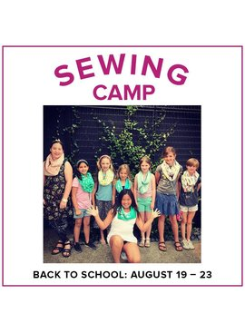 Karin Dejan CLASS FULL Kids Sewing Camp: Back to School!, Alberta St Store, Monday - Friday, August 19-23, 10am-1pm