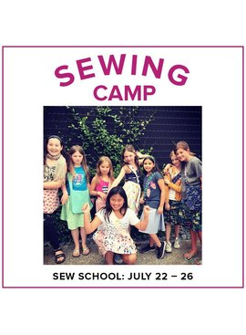 Karin Dejan CLASS FULL Kids Sewing Camp: Sew School!, Alberta St. Store, Monday - Friday, July 22-26, 10am-1pm