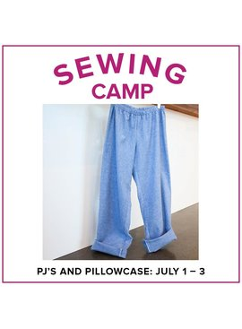Cath Hall Kids Sewing Camp: Pajama Pants and Pillowcases! Alberta St Store, Monday - Wednesday, July 1-3, 2-5pm