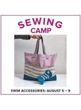 Jill Farrell Kids Sewing Camp: Swim Accessories, Alberta St. Store, Monday - Friday, August 5-9, 9am-12pm