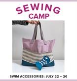 Jill Farrell CLASS FULL Kids Sewing Camp: Swim Accessories, Lake Oswego Store, Monday - Friday, July 22-26, 9am-12pm