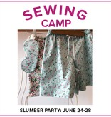 Jaylin Redden-Hefty CLASS FULL Kids Sewing Camp: Slumber Party, Lake Oswego Store, Monday - Friday, June 24-28, 10am-1pm