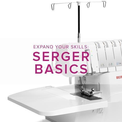 Modern Domestic MyBERNINA Serger Basic, Alberta St. Store, Sunday, April 7, 10am-12pm