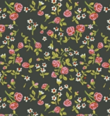 Windham Fabrics Trixie by Heather Ross Bouquet Dark Green