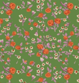 Windham Fabrics Trixie by Heather Ross Bouquet Kelly
