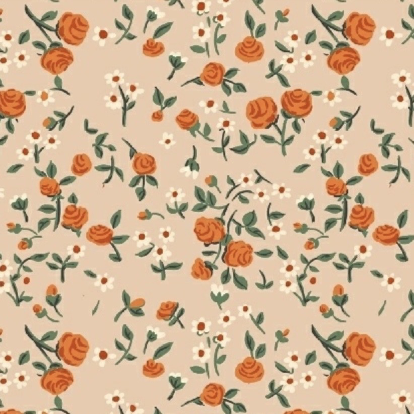 Windham Fabrics Trixie by Heather Ross Bouquet Blush
