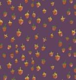 Windham Fabrics Trixie by Heather Ross Strawberries Plum