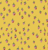 Windham Fabrics Trixie by Heather Ross Strawberries Gold