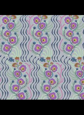 Freespirit Tamborine by Anna Maria Horner Messages Lilac