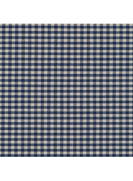 Robert Kaufman Crawford Gingham Medium Navy