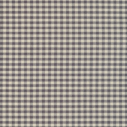 Robert Kaufman Crawford Gingham Medium Grey