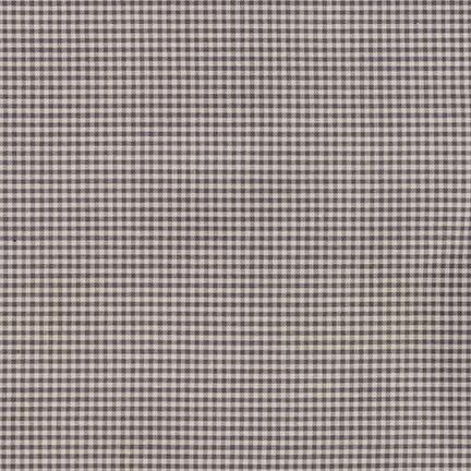 Robert Kaufman Crawford Gingham Petite Grey
