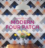 Cath Hall Learn to Quilt: Modern Four Patch Seeing Double Quilt, Alberta St. Store, Tuesdays, May 7, 14, 21 & 28, 6-8:30pm