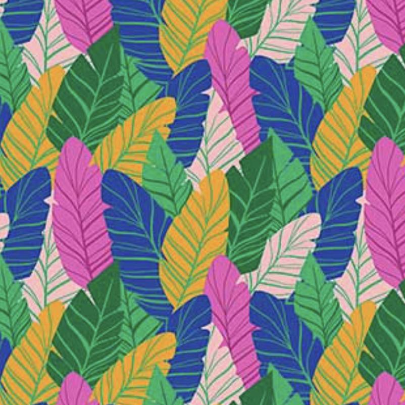 FIGO Tropical Jammin by Black Llamb Jungle Green