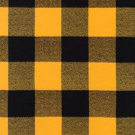 Robert Kaufman Mammoth Flannel Yellow