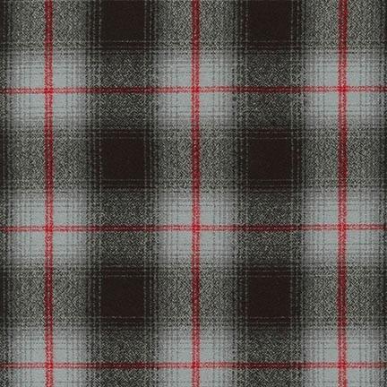 Robert Kaufman Mammoth Flannel Grey