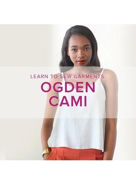 Jeanine Gaitan Learn to Sew Garments: Ogden Cami, Alberta St Store, Wednesdays, June 19 & 26, 6-9pm