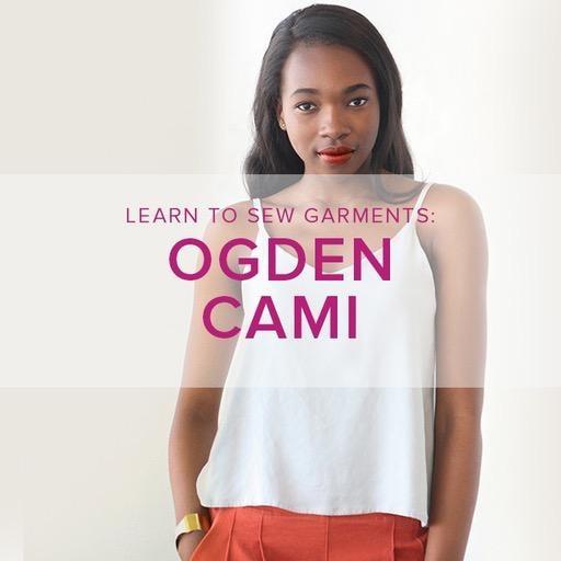 Jeanine Gaitan Learn to Sew Garments: Ogden Cami, Alberta St Store, Wednesdays, June 19 & 26, 6-9pm