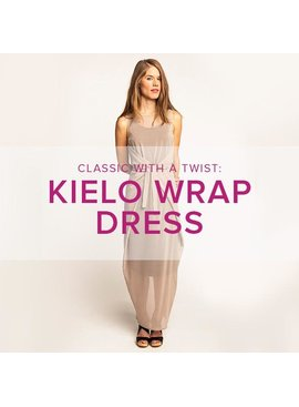 Jeanine Gaitan Kielo Wrap Dress, Alberta St Store, Tuesdays, July 9, 16, & 23, 6-8:30pm