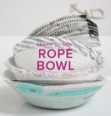 Rebekah Fink Learn to Sew: Rope Bowls, Lake Oswego Store, Sunday, June 9, 10am-12pm
