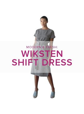 Erica Horton PATTERN INCLUDED Wiksten Shift Dress or Top, Alberta St. Store, Thursdays, May 30, June 6 & 13, 6-8:30pm