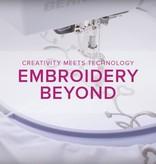 Modern Domestic MyBERNINA: Machine Embroidery Beyond, Alberta St. Store, Sunday, May 18, 10am-12pm