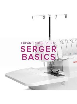 Modern Domestic MyBERNINA Serger Basic, Alberta St. Store, Monday, May 6, 2-4pm
