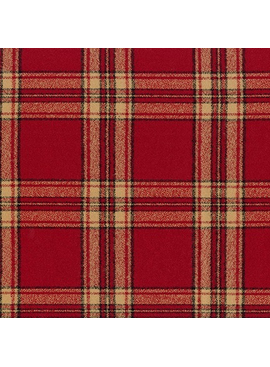 Robert Kaufman Mammoth Flannel Red