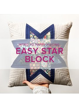Cath Hall CLASS FULL Intro to Paper Piecing: Easy Star Block, Lake Oswego Store, Monday, June 10, 6-9pm