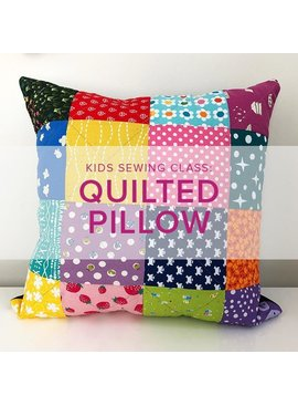 Cath Hall Kids Sewing Class: Quilted Pillow, Saturday, July 6, Alberta St Store, 10am-1pm