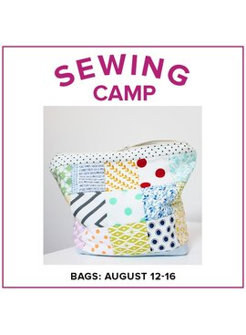 Cath Hall CLASS IN SESSION Kids Sewing Camp: Bags!, Alberta St. Store, Monday - Friday, August 12-16, 2-5pm