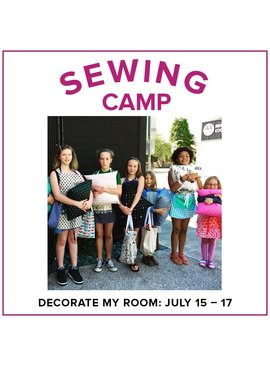 Karin Dejan Kids Sewing Camp: Decorate My Room! Lake Oswego Store, Monday-Wednesday, July 15-17, 10am-1pm