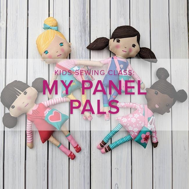 Cath Hall Kids Sewing Class: Panel Pals - Make Your Own Stuffies,  Lake Oswego Store, Saturday, July 27, 2-5pm