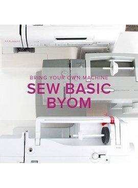 Iris Asher Sew Basic, BYOM (Bring your own machine!) Alberta St. Store, Monday, June 24, 6-8:30pm