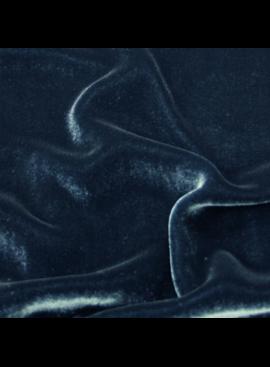 Exotic Silks Silk Velvet Peacock Blue 18% Silk 82% Rayon