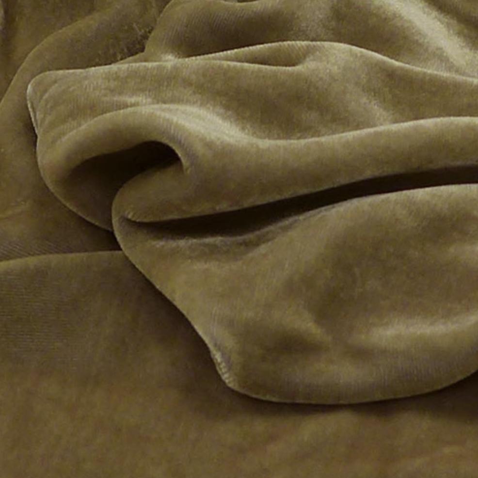 Exotic Silks Irridescent Velvet Funghi 18% Silk 82% Rayon