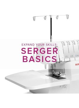 Modern Domestic MyBERNINA Serger Basic, Alberta St. Store, Sunday, July 7, 10am-12pm