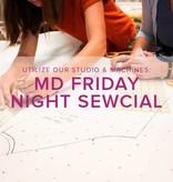 Modern Domestic Friday Night Sewcial, Alberta St. Store, Friday, July 5, 5-8 pm