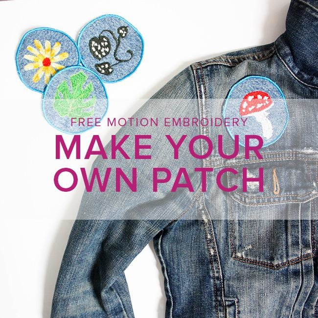 Jane Addams Free-Motion Embroidery: Make Your Own Patch, Alberta St Store, Sunday, July 28, 2-5pm