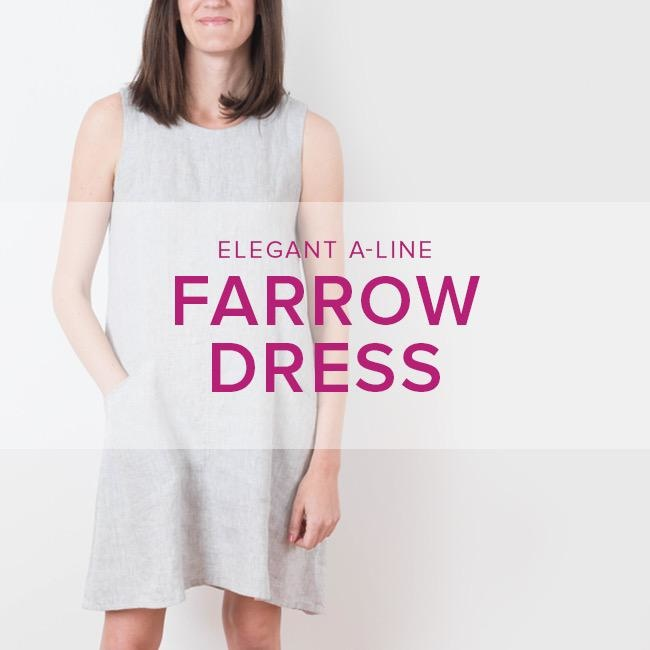 Karin Dejan CLASS IN SESSION Farrow Dress, Lake Oswego Store, Thursdays, August 15, 22, & 28, 6-9pm
