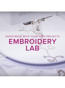 Modern Domestic MyBERNINA: Machine Embroidery Lab, Alberta St. Store, Sunday, July 21, 10am-12pm