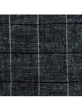 Pickering International 55% Hemp / 45% Organic Cotton Indigo Lightweight Denim Checks 5.3oz