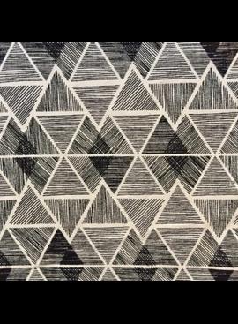 Pickering International Hemp / Organic Cotton Black / White Geo Print 10.4oz