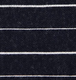 Pickering International Bamboo / Organic Cotton Striped Pique Midnight Blue 9oz