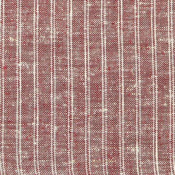 "Pickering International Hemp / Organic Cotton Maroon Ticking 3.8oz—56"" wide"