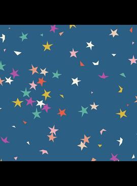 Ruby Star Pop by Rashida Coleman Hale for Ruby Star Society Blue Raspberry