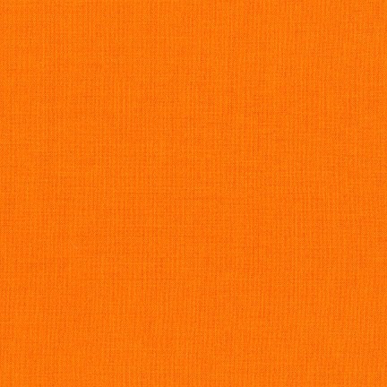 Robert Kaufman Kona Cotton Clementine