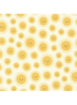 Robert Kaufman State to State by Ann Delle Suns Yellow