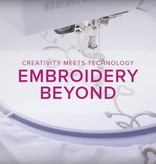 Modern Domestic MyBERNINA: Machine Embroidery Beyond, Lake Oswego Store, Tuesday, August 27, 2-4pm